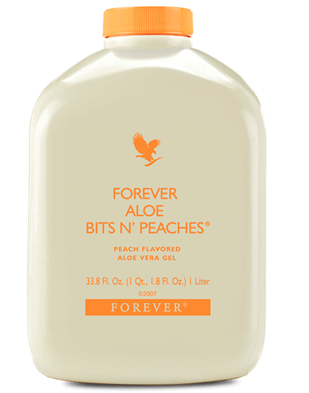 Forever Aloe Bits N'Peaches